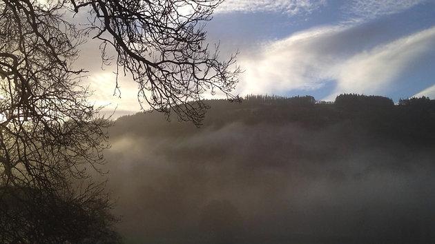 Misty Dawn @ Tan-y-Garth Hall