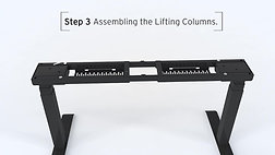 Height Adjustable Desk - Installation Guide
