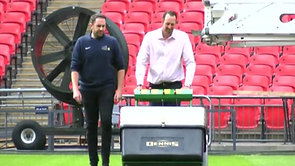 BBC Midlands Today - Jimmy the Mower at Wembley