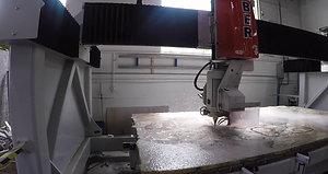 IVO: Granite Countertop Cutting