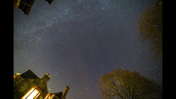 Time Lapse Milky Way and Meteors