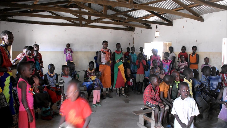 Church service Samburu