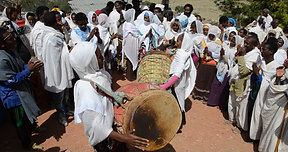 Church celebration in Tigray