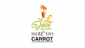 Heroshi Carrot & Capsicum Juice Recipe