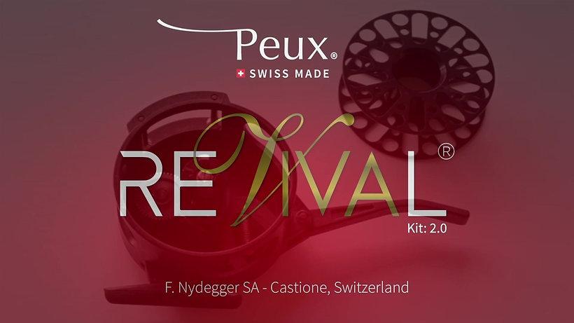 PEUX FLY REELS - REvivaL 0.1+0.2 & Spools