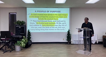 Sunday, May 23, 2021 People of Divine Purpose Pt 2