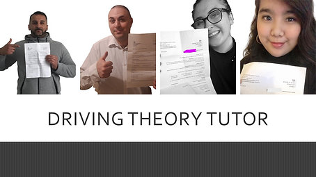 Driving Theory Test Tutor, practice up to date driving theory test questions, help with hazard perception test clips, pass driving theory test