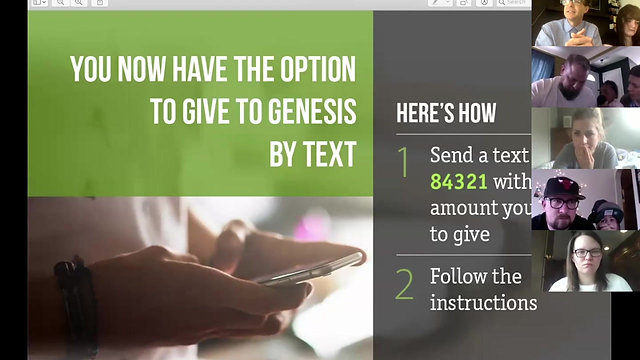 Genesis the Church - Virtual Service (Prior Week)