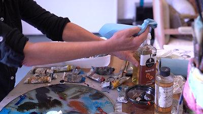 Liz Brozell Artist Open Studio