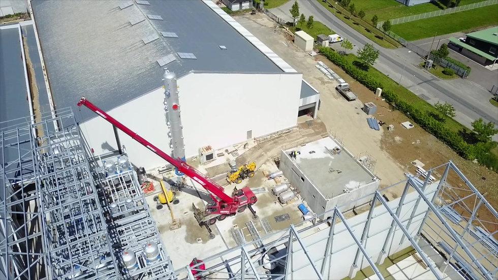 Visitez le chantier de la Raffinerie Olvea GT
