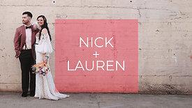Nick + Lauren