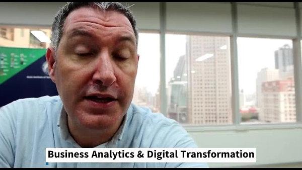 MSc in Business Analytics & Digital Transformation