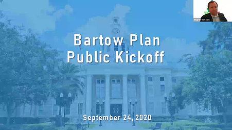 Bartow Plan Stakeholder Kickoff Webinar