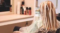 Labella plaukų dažymo video