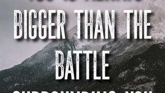 You Are Not Alone in this Battle