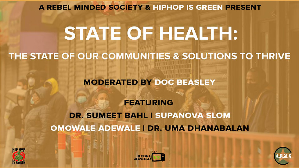 State Of Health: The State of our Communities & Solutions to Thrive
