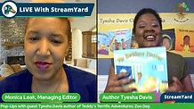 Pharside Pholio Interview with author Tyesha Davis of  Teddy's Terrific Adventures