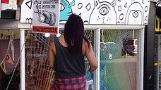 Wellington NZ. Shop mural. 2015 - AAPPA PAPPA