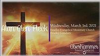 Alan Fleck - March 3, 2021 at 1:00 pm
