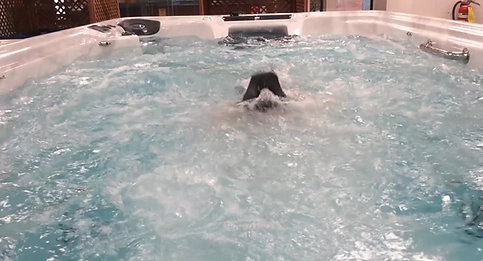 Alexis Swimming in 15 TidalFit