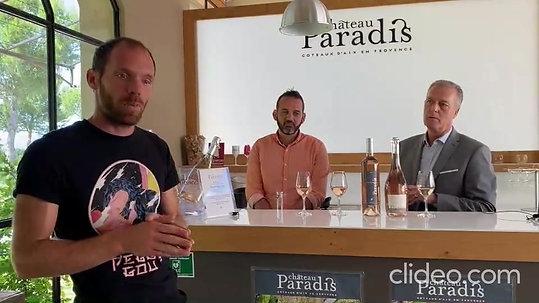 Paradis Terre des Anges rosé 2019 - 93 Pts Robert Parker