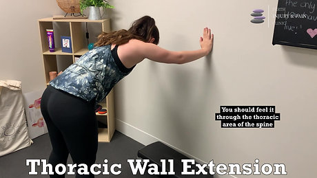 Thoracic Wal Extension