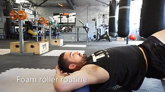 Foam roller routine - Body Maintenance