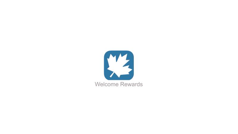 Welcome Rewards Video