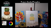 Stacked Pumpkins - Beginner's Acrylic Painting Class