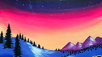To the Mountains - Beginner's Acrylic Painting Class