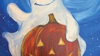 Boo Greetings - Beginner's Acrylic Painting Class