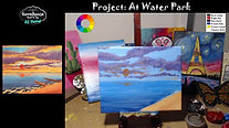 At Water Park - Beginner's Acrylic Painting Class
