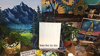 Mighty Mountains - Beginner's Acrylic Painting Class