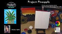 Pineapple - Beginner's Acrylic Painting Class