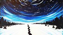 Moving Stars - Beginner's Acrylic Painting Class