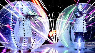 Show Led Sphere Panamá