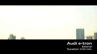 Audi e-tron Footage