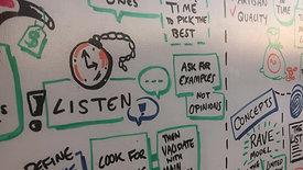Detail from live scribing workshop, Christchurch, New Zealand