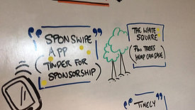 Detail from live scribe workshop