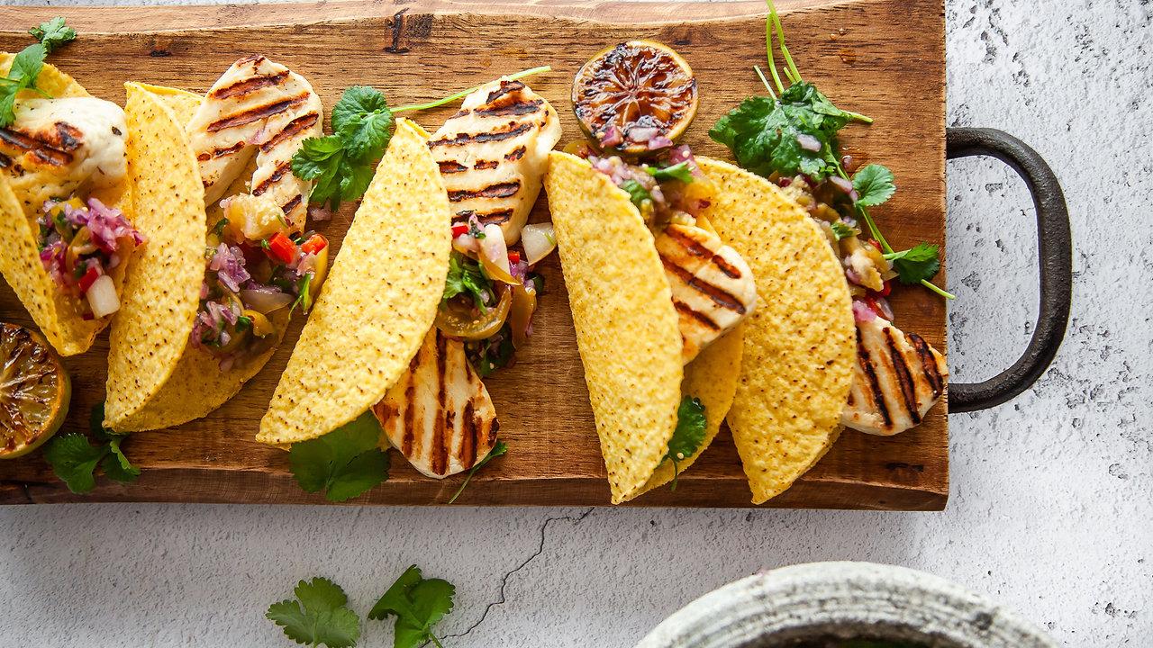 Halloumi Tacos