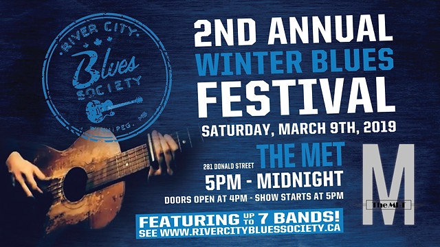 Winnipeg's 2nd Winter Blues Festival - Single Songs