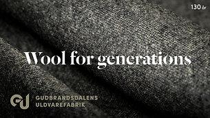 Profilfilm - Gubrandsdalens Uldvarefabrik