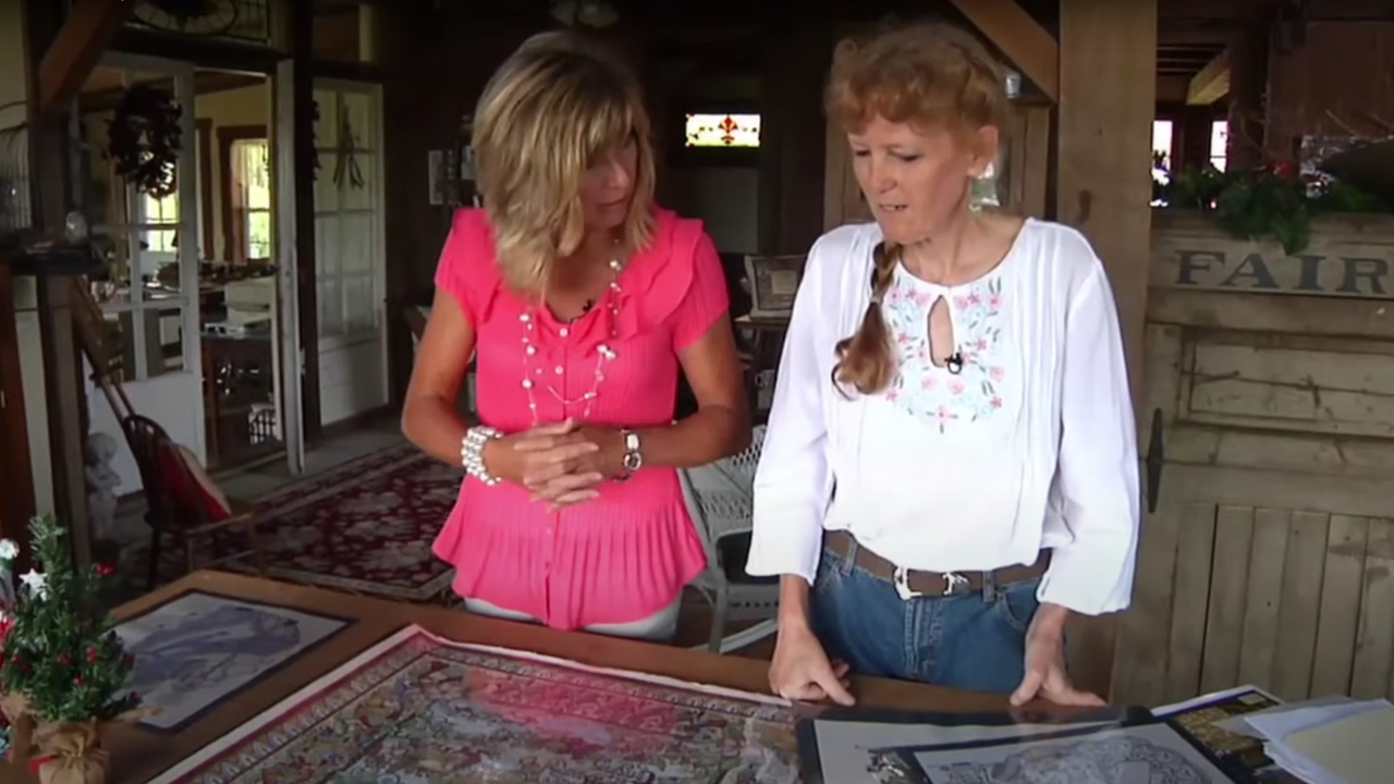 Tour of Shelly's Studio with WSEC-TV