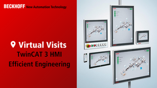TwinCAT 3 HMI, Efficient Engineering