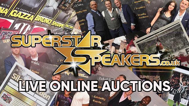 Live Facebook  Memorabilia Auctions