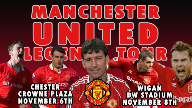 Coming up: Manchester United Legends Tour