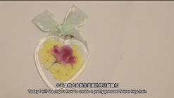 Pressed Flower Keyholder