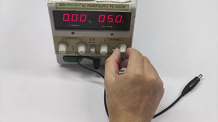 (F) Gloves 12V - Testing 测试方法