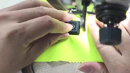 (A)Gloves -Temp Control -1温控器安装(车外线)