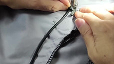 (C) Input Wire Setting 输入线束固定